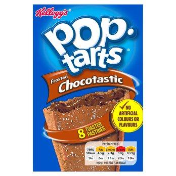 KELLOGGS POP TARTS CHOCOLATE 8X48G