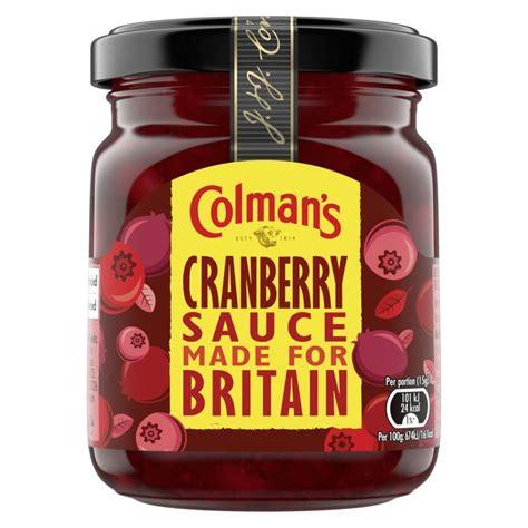 COLMANS CRANBERRY SAUCE 165G