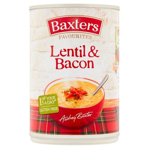 BAXTERS LENTIL & BACON 400G