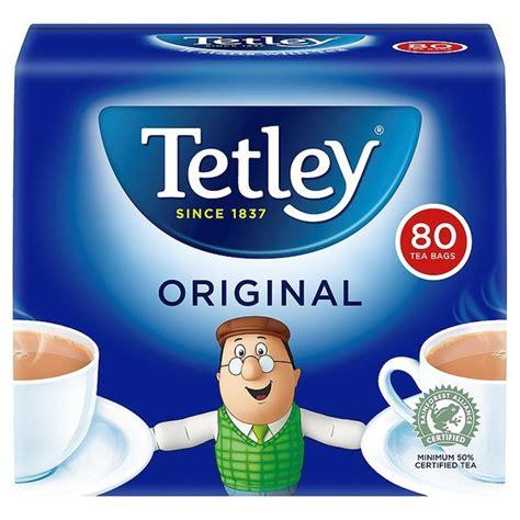 TETLEY 80 TEABAGS 250g