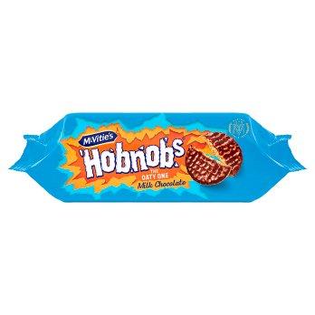 MCVITIES HOBNOBS MILK CHOCOLATE 262G