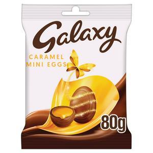 GALAXY CARAMEL MINI EGGS 80G