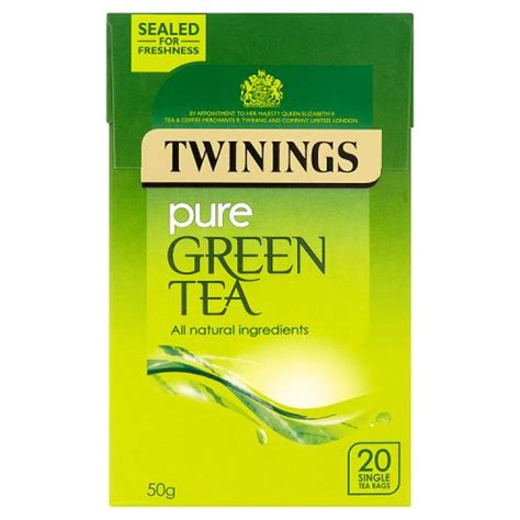 TWININGS PURE GREEN 20S