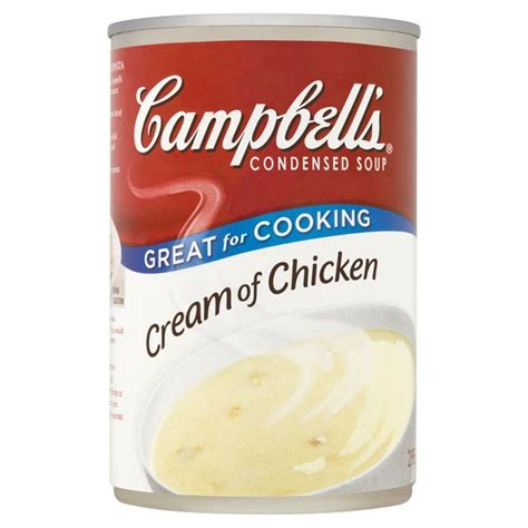 CAMPBELL SOUP CREAM OF CHICKEN 295G