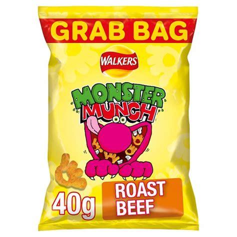 MONSTER MUNCH ROAST BEEF 40G
