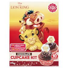 CAKE ANGELS DISNEY LION KING CHOCOLATE CUPCAKE KIT 176G