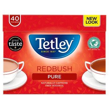 TETLEY 40 REDBUSH TEABAGS