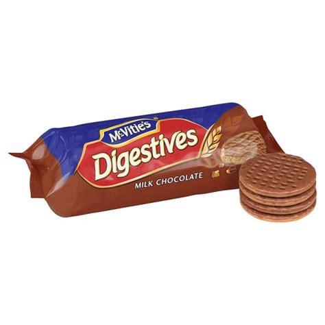 MCVITIES DIGESTIVES MILK CHOCOLATE 266G