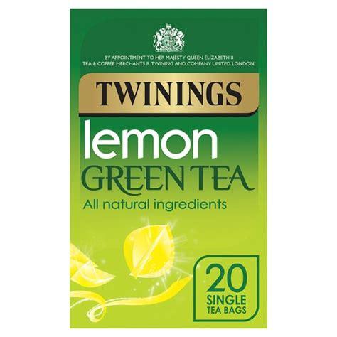 TWININGS GREEN & LEMON TEA BAGS 20S