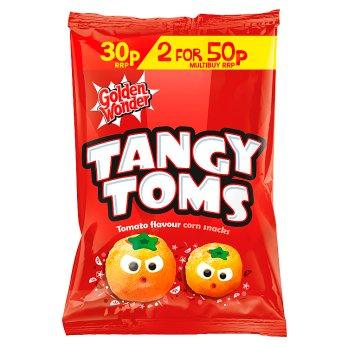 GOLDEN WONDER TANGY TOMS 25G
