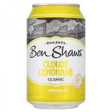 BEN SHAWS LEMONADE 330ml - incl 1kr Pant