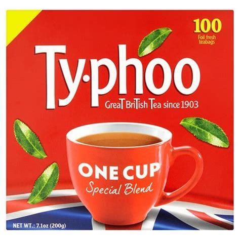 TYPHOO ONE CUP TEA BAGS 100S PM 200g