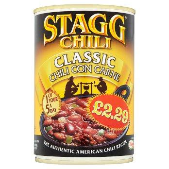 STAGG CHILLI CLASSIC 400G