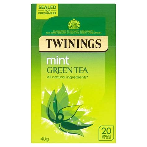 TWININGS GREEN AND MINT 20S