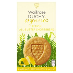 DUCHY LEMON SHORTBREAD 150G