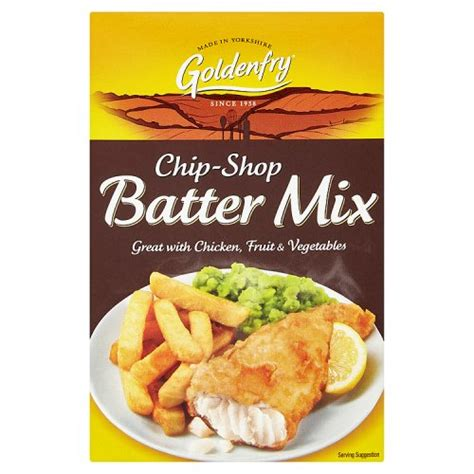 GOLDENFRY CHIP SHOP FISH BATTER 170G
