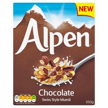 ALPEN MUESLI CHOCOLATE 550G