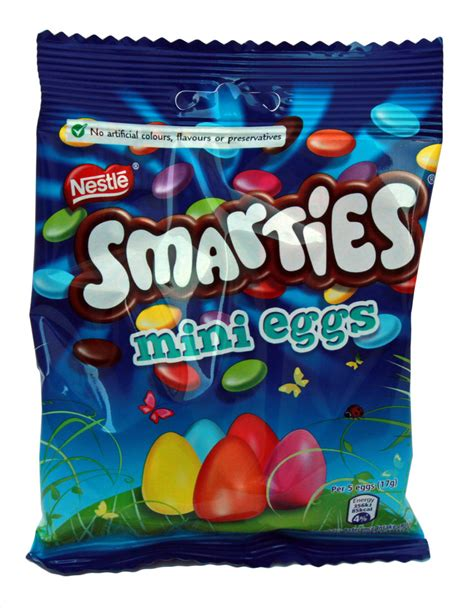 NESTLE SMARTIES MINI EGGS BAG 80G