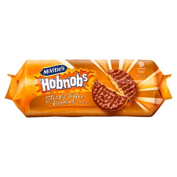 MCVITIES STICKY TOFFEE PUDDING HOBNOBS, 262G