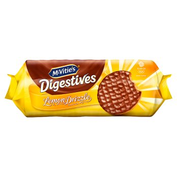 MCVITIES LEMON DRIZZLE DIGESTIVES 243G