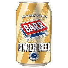 BARR GINGER BEER 330ml - incl 1kr Pant