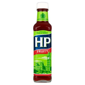 WHOLESALE ONLY - 12 x HP FRUITY SAUCE GLASS 255G