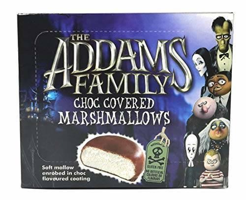 ADAMS FAMILY CHOC COVERED MARSHMALLOWS 10PK