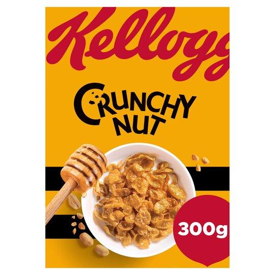 KELLOGGS CRUNCHY NUT CORNFLAKES 300G