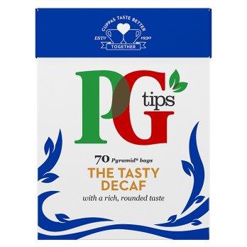 PG TIPS 70 DECAF TEA BAGS