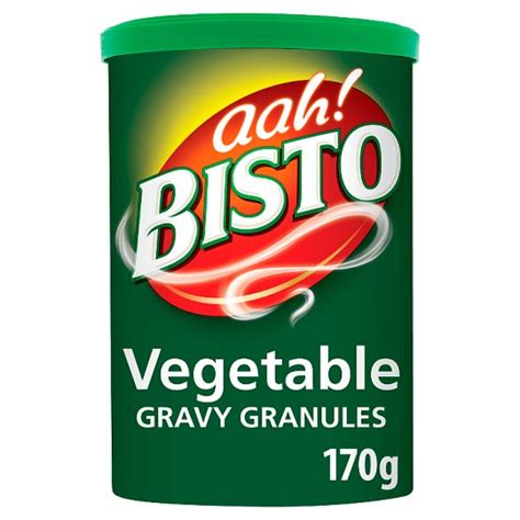 BISTO GRAVY GRANULES VEGETABLE 170G
