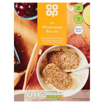 CO OP WHOLEWHEAT BISCUITS 24S