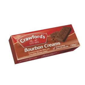 CRAWFORD BOURBON CREAMS 150G