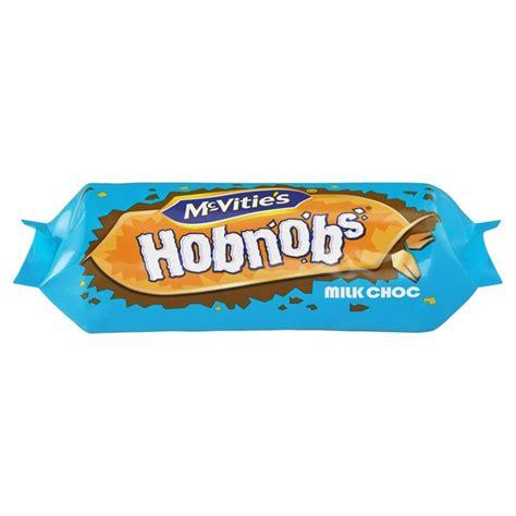 MCVITIES HOBNOBS MILK CHOCOLATE 262G PM