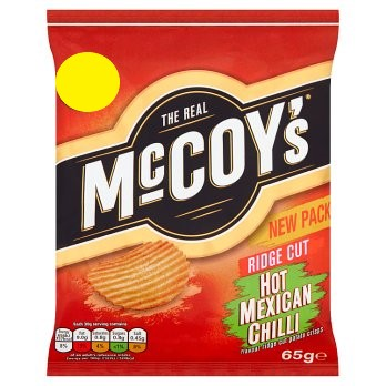 MCCOYS HOT MEXICAN CHILLI 65G