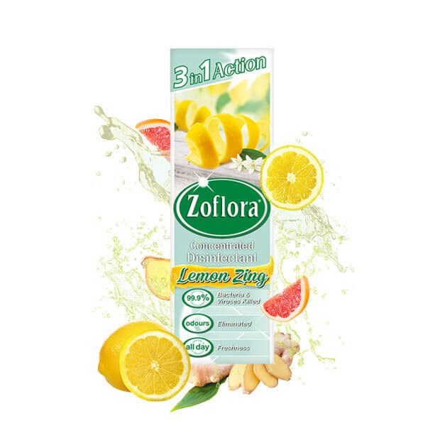 ZOFLORA LEMON CONCENTRATED DISINFECTANT 250ML