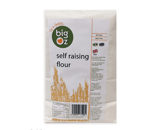 BIG OZ SELF RAISING FLOUR 1.5KG