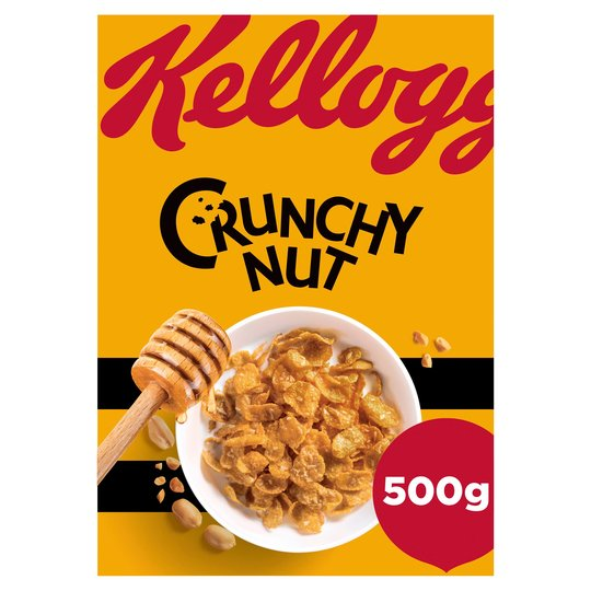 KELLOGGS CRUNCHY NUT CORNFLAKES 500G