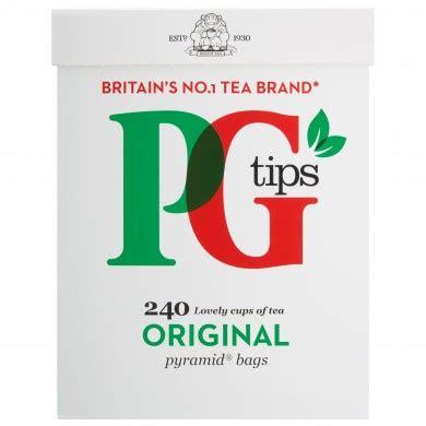 PG TIPS 240 TEA BAGS