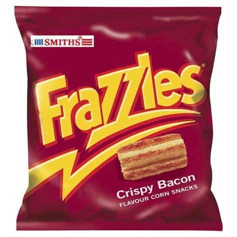 SMITHS FRAZZLES BACON CRISPS 34G PM