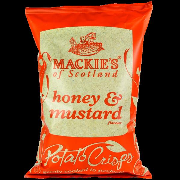 MACKIES HONEY & MUSTARD CRISPS 150G
