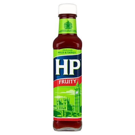 HP FRUITY SAUCE GLASS 255G
