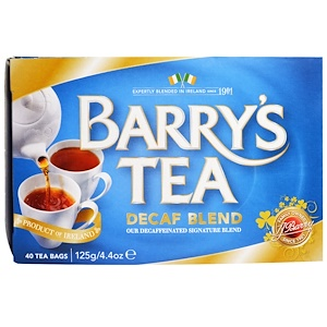 BARRYS 40 DECAF TEABAGS 125G