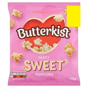 BUTTERKIST CINEMA SWEET POPCORN 70G
