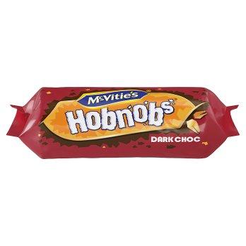 MCVITIES HOBNOBS DARK CHOCOLATE 262G