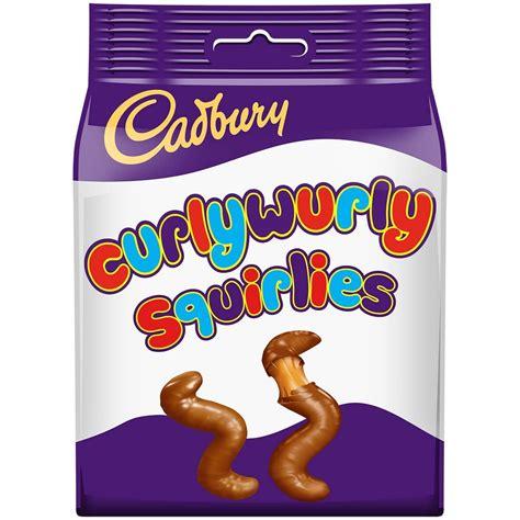 CADBURY CURLY WURLY SQUIRLIES 95G