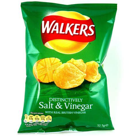 WALKERS SALT & VINEGAR CRISPS 32.5G