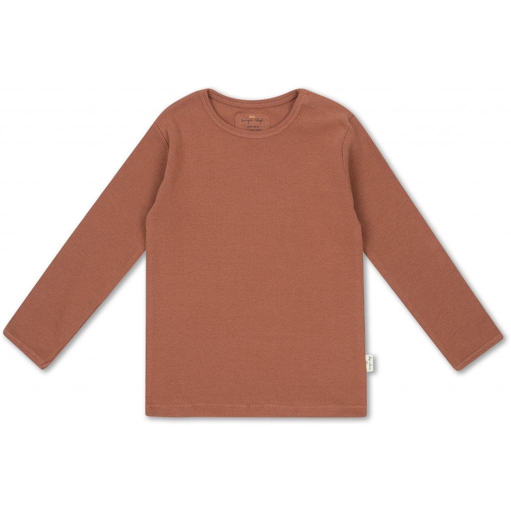 KONGES SLØJD Siff blouse - Choco bean -