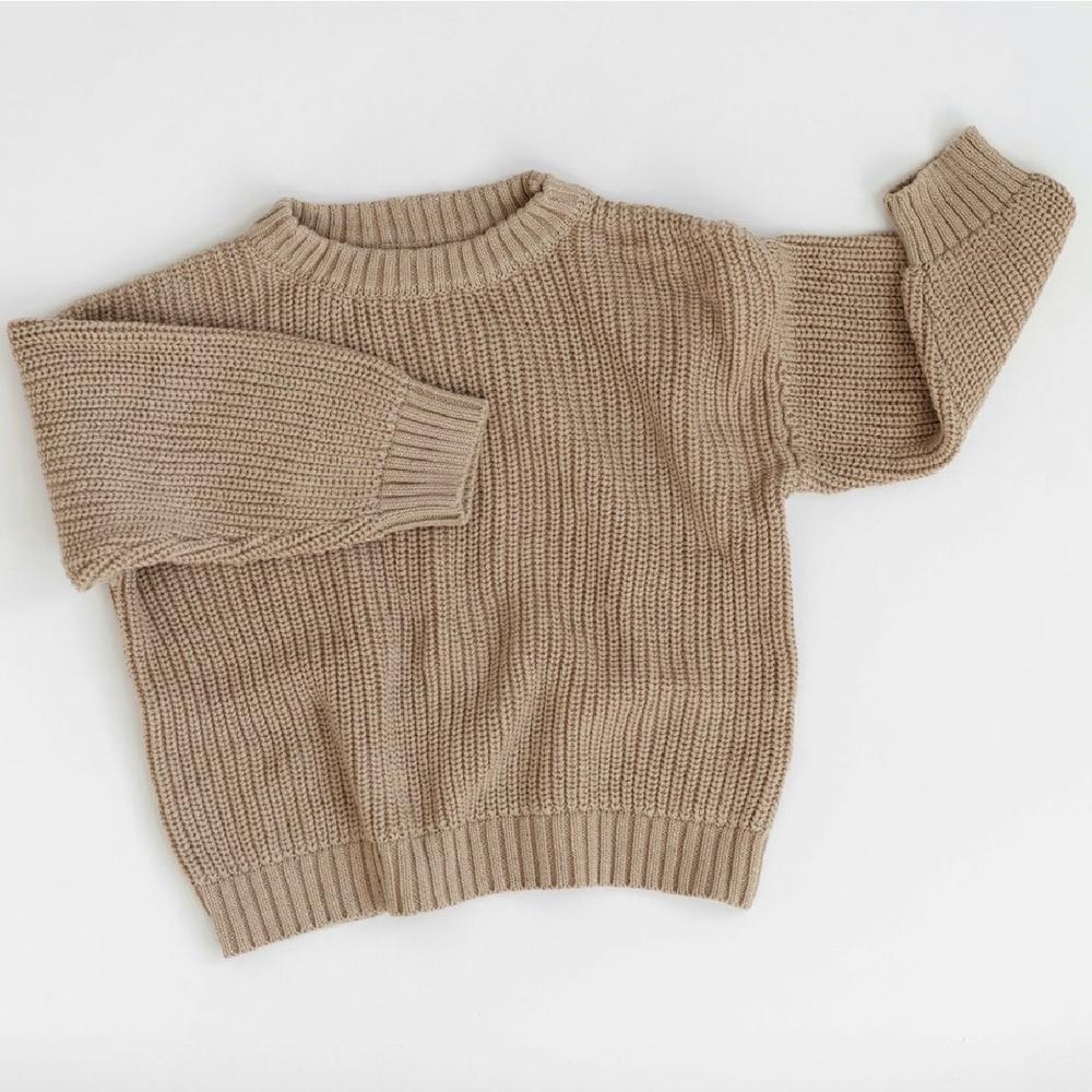 KINDLY (Tidligere Fieldday) Chunky knit genser - Camel -