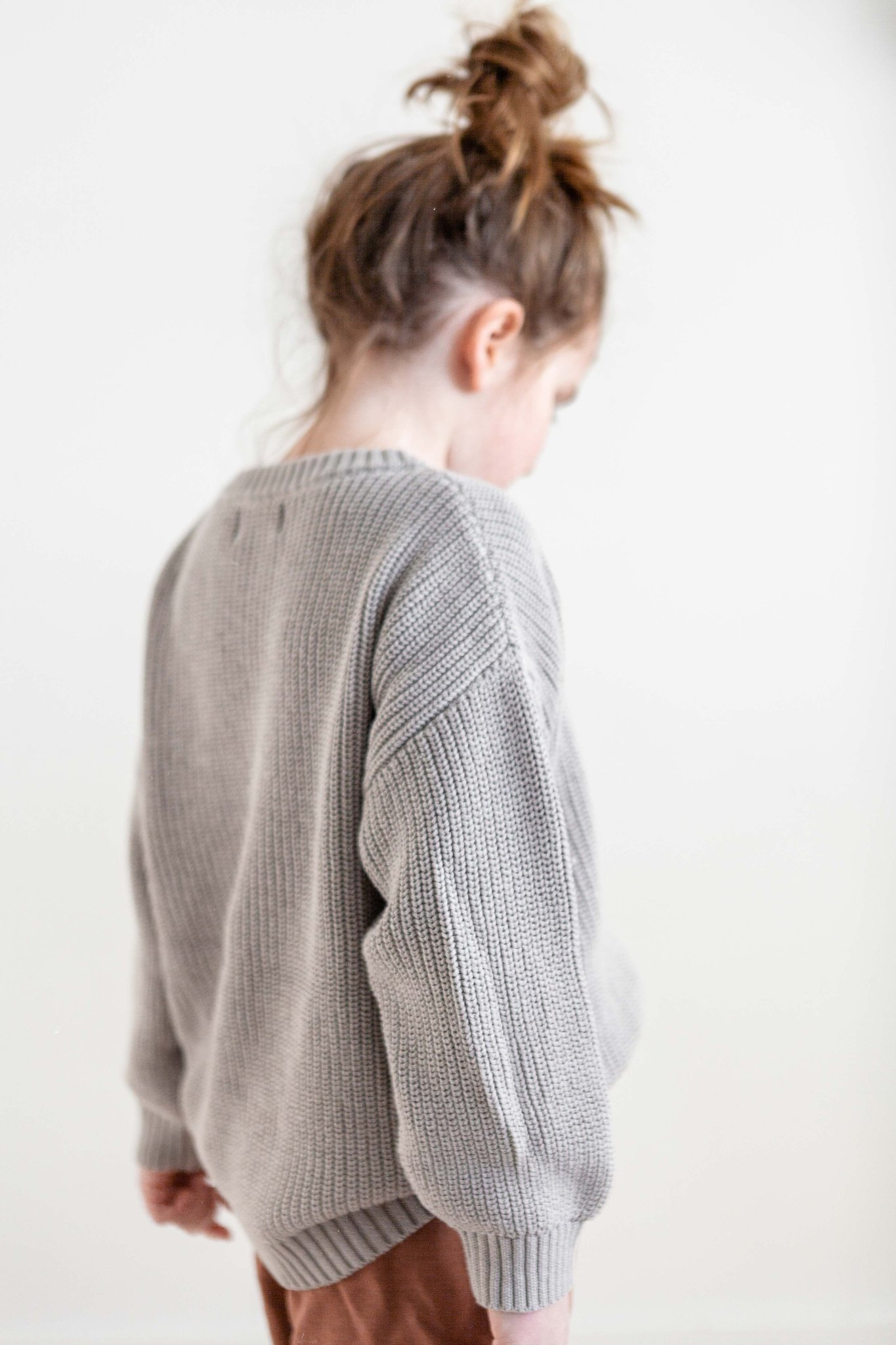 FIELDDAY Chunky knit - Grey fog -