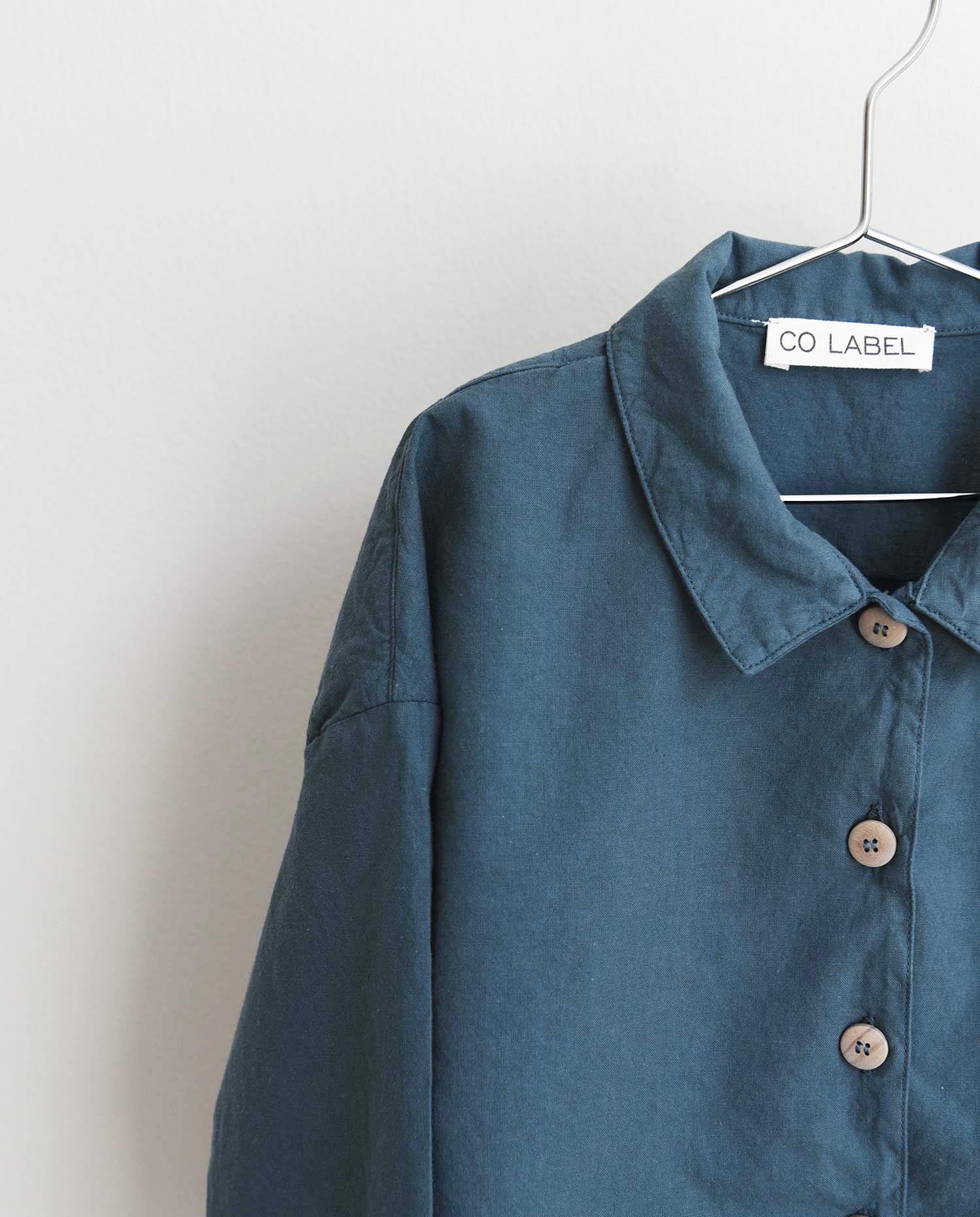 CO LABEL Bo shirt - Faded blue -